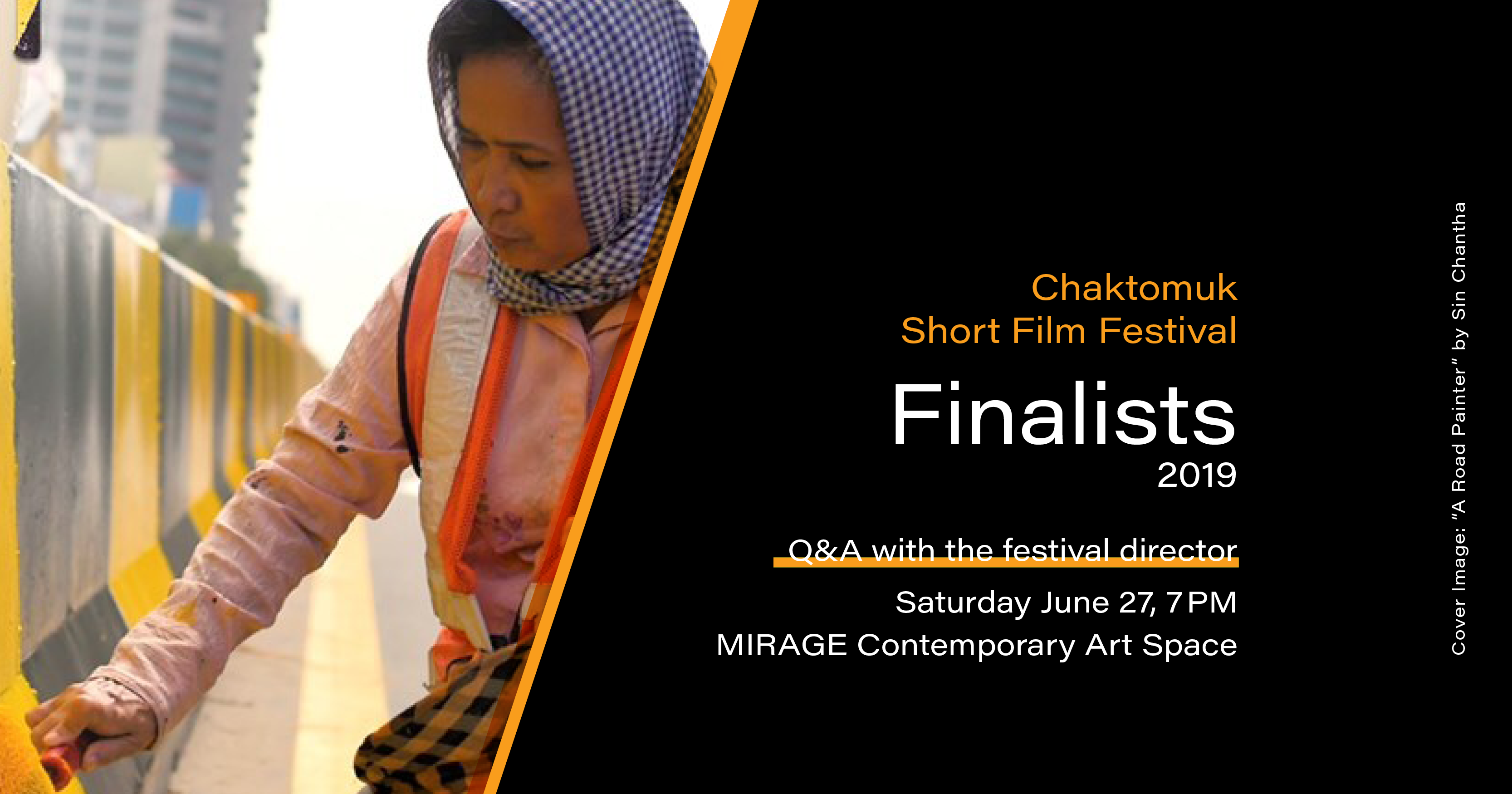 Chaktomuk Short Film Festival at MIRAGE Contemporary Art Space in Siem Reap, Cambodia