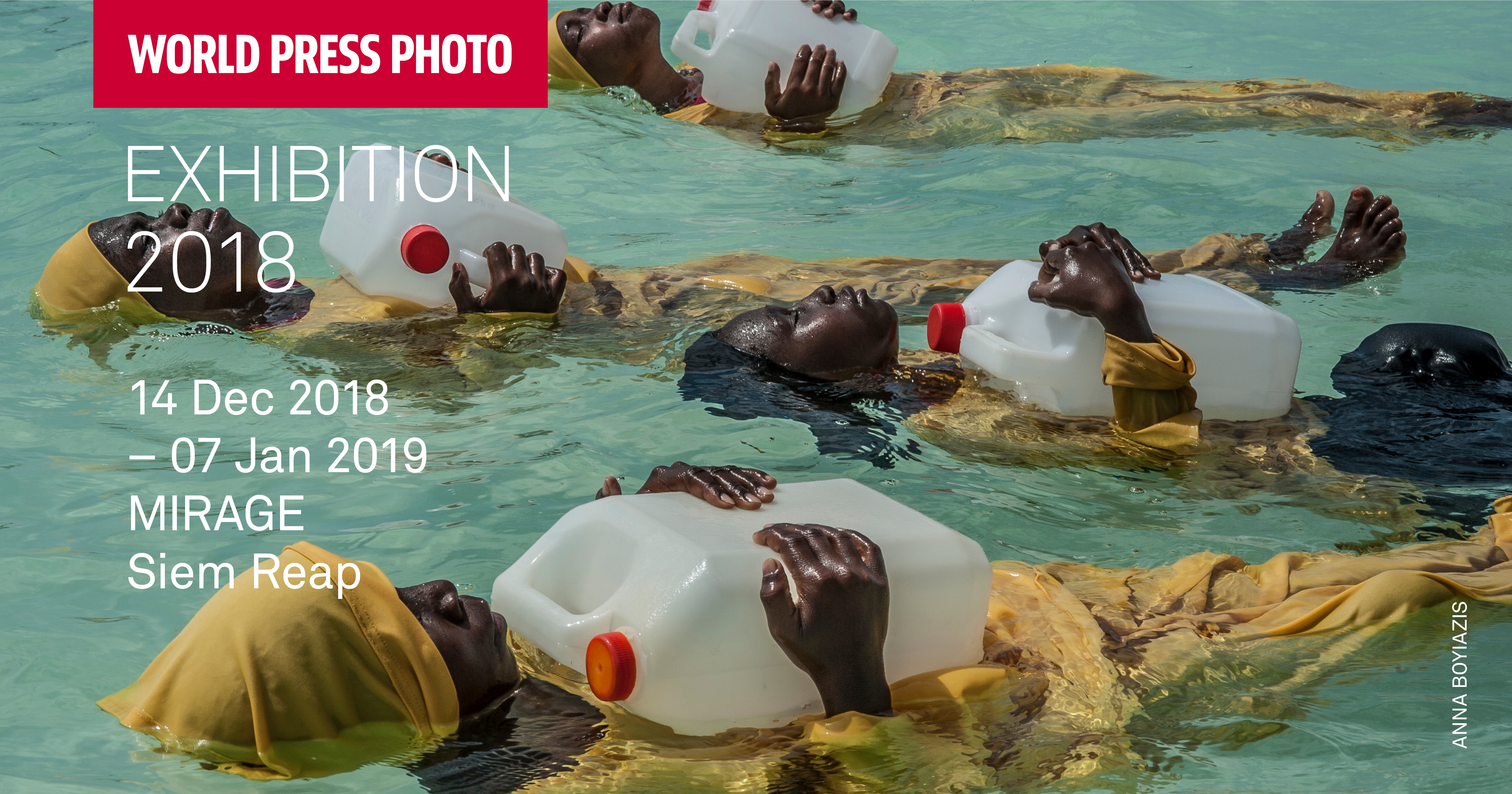 WORLD PRESS Photo Exhibition 2018 at MIRAGE Contemporary Art Space in Siem Reap, Cambodia